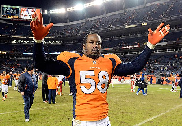 Report: Broncos linebacker Von Miller facing four-game suspensi…