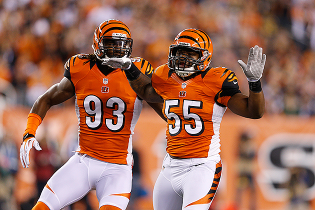 Bengals' Vontaze Burfict gets rewarded