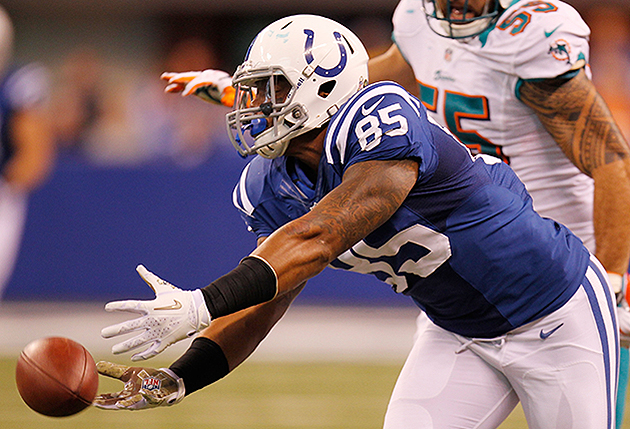 Colts TE Weslye Saunders suspended eight games for violating PE…