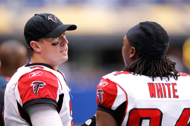 Roddy White: 'If Russell Wilson is better than Matt Ryan, I don…