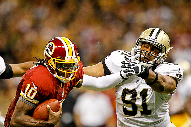 New Orleans Saints restructure Will Smith, Jonathan Vilma contr…