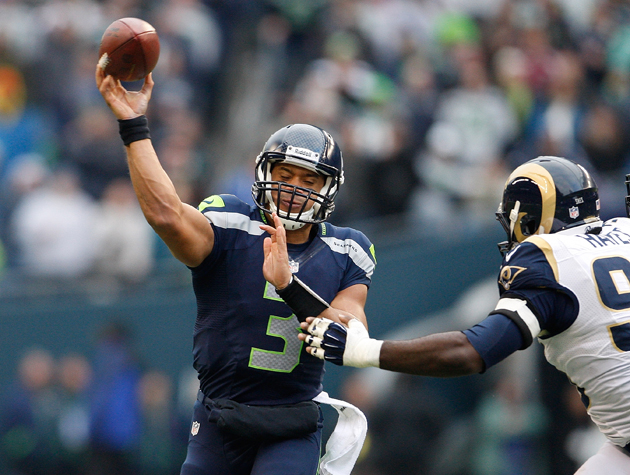 Seattle's Russell Wilson ties Peyton Manning's rookie record fo…