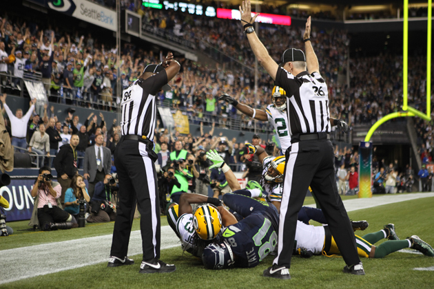 Replacement refs say they were told to let pass interference pe…