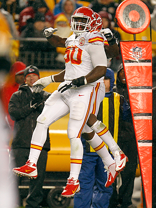 Chiefs penalized 15 yards for celebrating a non-existent touchd…