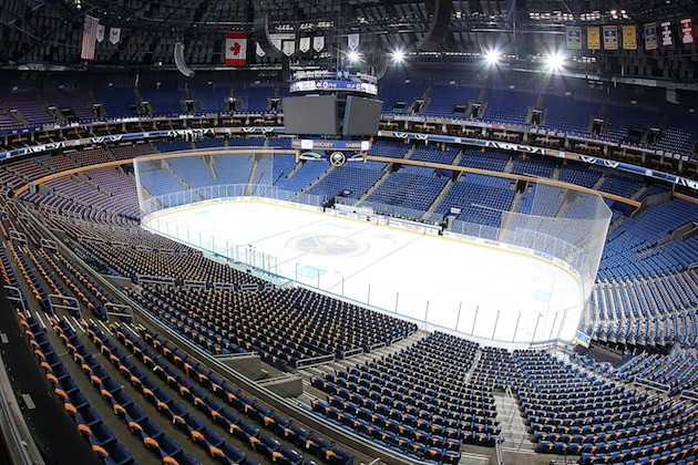 Sabres-Hurricanes game postponed after blizzard hits Buffalo