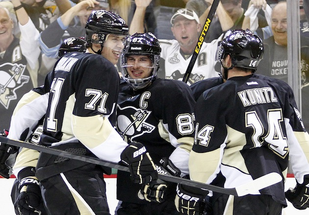 NHL Three Stars: Crosbys trick gives Pens 4-3 Game 2 victory