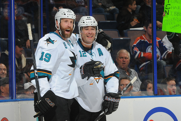 Sharks sign Patrick Marleau, Joe Thornton to three-year extensi…