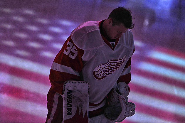 Jimmy Howard makes U.S. Olympic team, joins Ryan Miller and Jon…