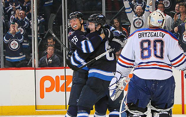 NHL Three Stars: Trouba wins for Jets; St. Louis, Pavelski domi…