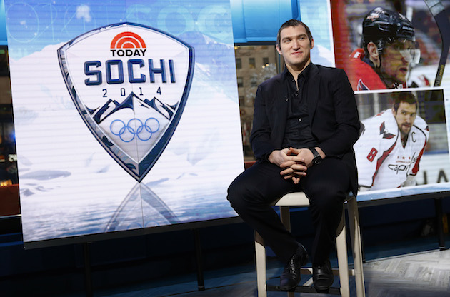 Alex Ovechkin on Pavel Datsyuk's Olympic future, pressure for g…