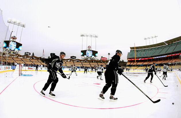 Kings, Ducks never thought they'd get their outdoor hockey mome…