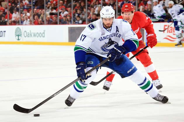 Has Ryan Kesler played his last game as a Vancouver Canuck?