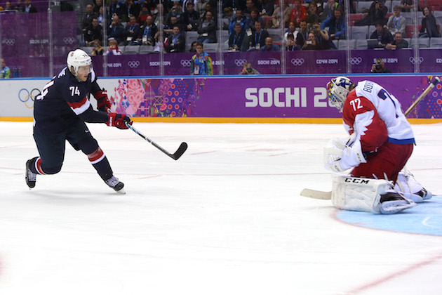 From bars to local rinks, U.S. hockey fans react to T.J. Oshie'…