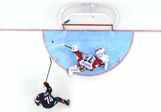 How T.J. Oshie became Team USA's shootout specialist: a video h…