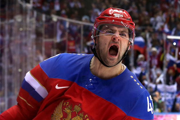 Olympic Three Stars: Radulov rebounds for Russia; Latvia upsets…