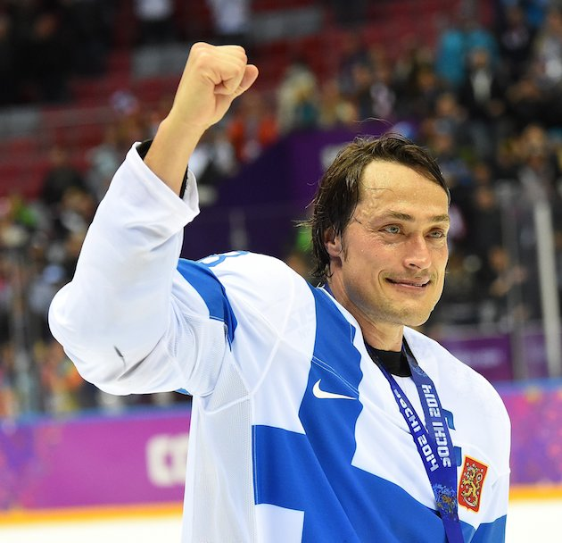 Teemu Selanne voted as Olympic tournament Most Valuable Player