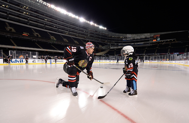 Jonathan Toews makes four-year-old's dream come true with Soldi…