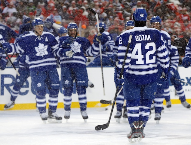 Tyler Bozak's shootout goal helps Maple Leafs beat Red Wings in…