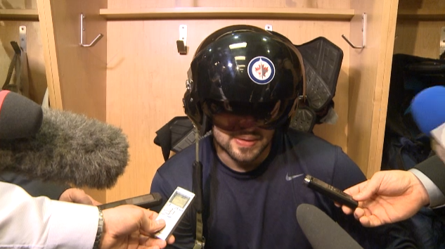 Winnipeg Jets fighter pilot helmet is newest NHL team post-game…
