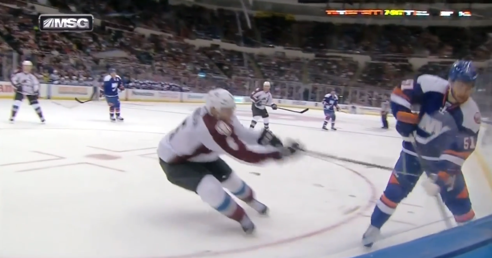 Avs' Erik Johnson suspended 2 games for slash that broke Frans …