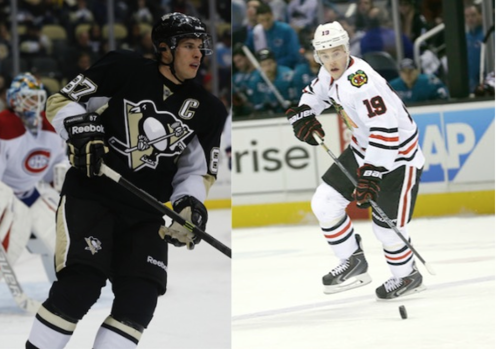 Sidney Crosby, Jonathan Toews finally meet as rivals in NHL Sta…