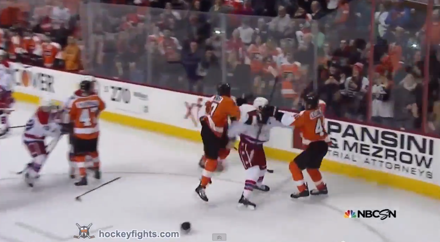 Capitals, Flyers renew pleasantries with another line brawl (Vi…