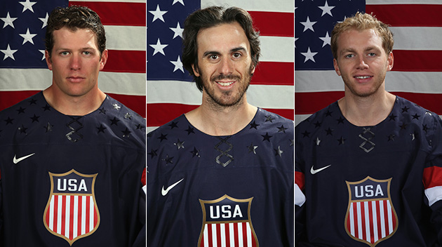 Meet U.S. Olympic men's hockey team for Sochi 2014; who got snu…