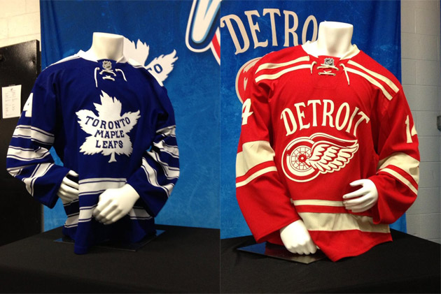 c6ba4597 Hockey: Pass or Fail: Detroit Red Wings, Toronto Maple Leafs 2014 ...