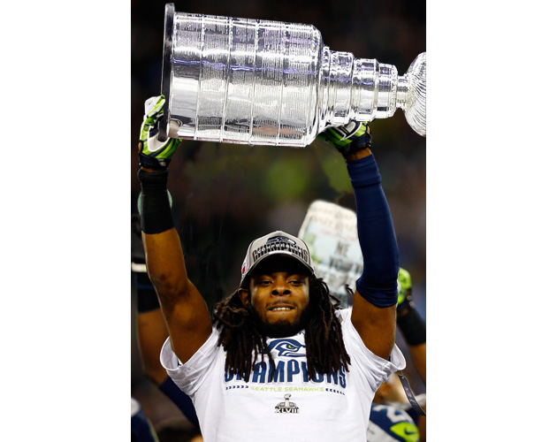 Richard Sherman thinks hockey players are thugs, and we sigh de…