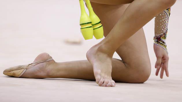 Olympic Gymnastics Wardrobe Malfunction