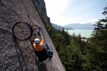 Quadriplegic-rock-climber-Brad-Zdanivsky