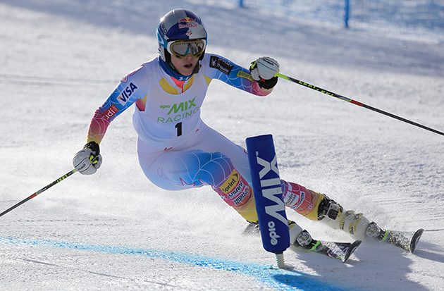 Lindsey Vonn earlier this month. (Getty Images)
