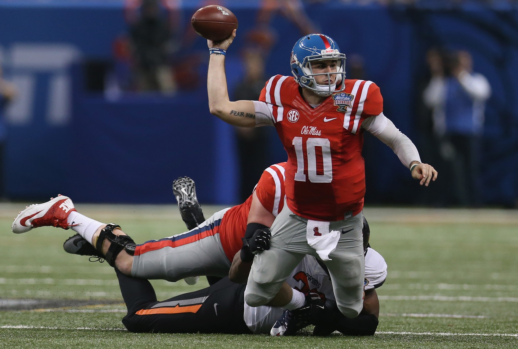 Ole Miss QB Chad Kelly (Getty Images)