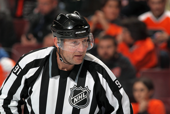 NHL linesman Don Henderson had neck surgery from Dennis Wideman…
