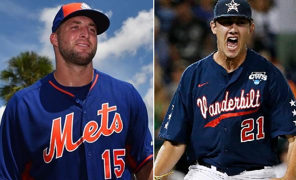 Pitcher who allowed Tim Tebow's home run tweets funny response