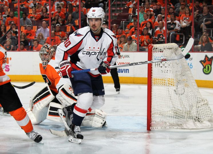 Marcus Johansson, Capitals meet in middle on 3-year deal