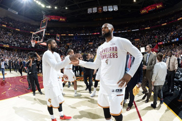 Kyrie Irving has reportedly requested that the Cleveland Cavaliers trade him so that he can be more of a focal point on another team. (Getty)
