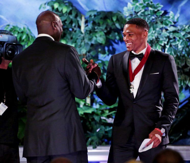 Michael Jordan sees himself in Russell Westbrook, praises Thund…
