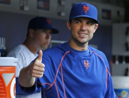 David Wright more than lives up to his duties as Mets' captain. (AP)