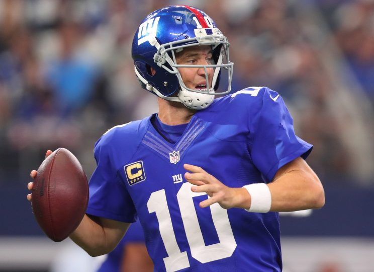 Eli Manning denies using 'Trump' as audible, but Brady does