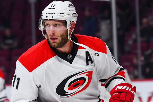 Jordan Staal exits Hurricanes win over Panthers with upper-body…