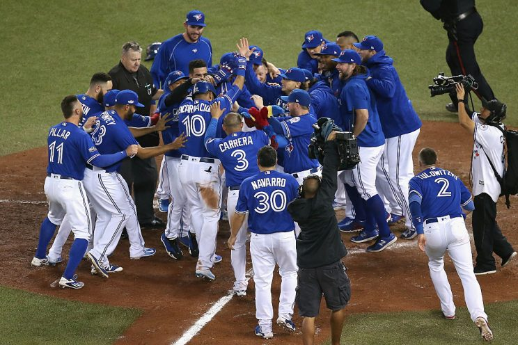 Aggressive high five gets Russell Martin celebration stitches