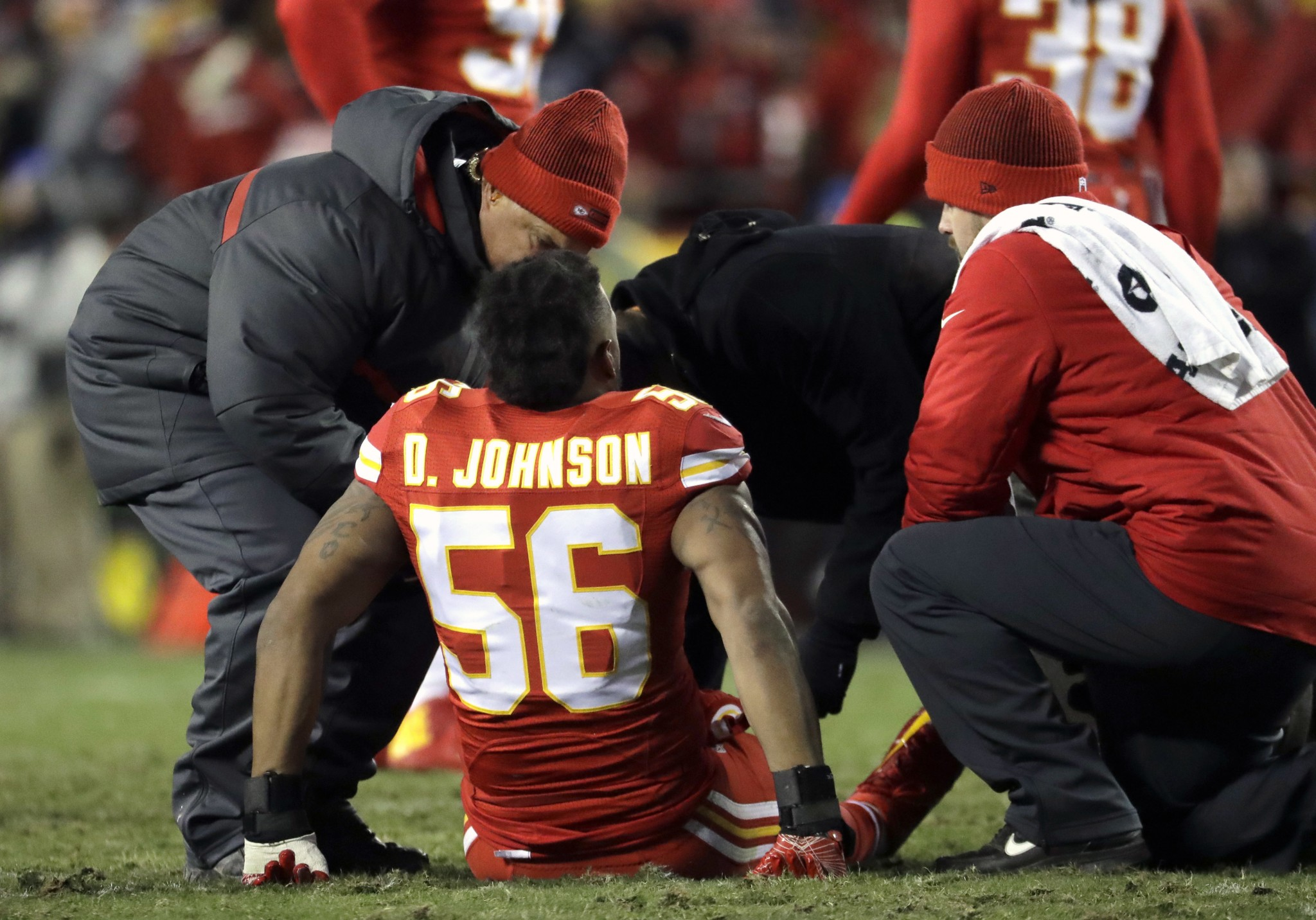 Chiefs lose emotional leader Derrick Johnson to another season-…