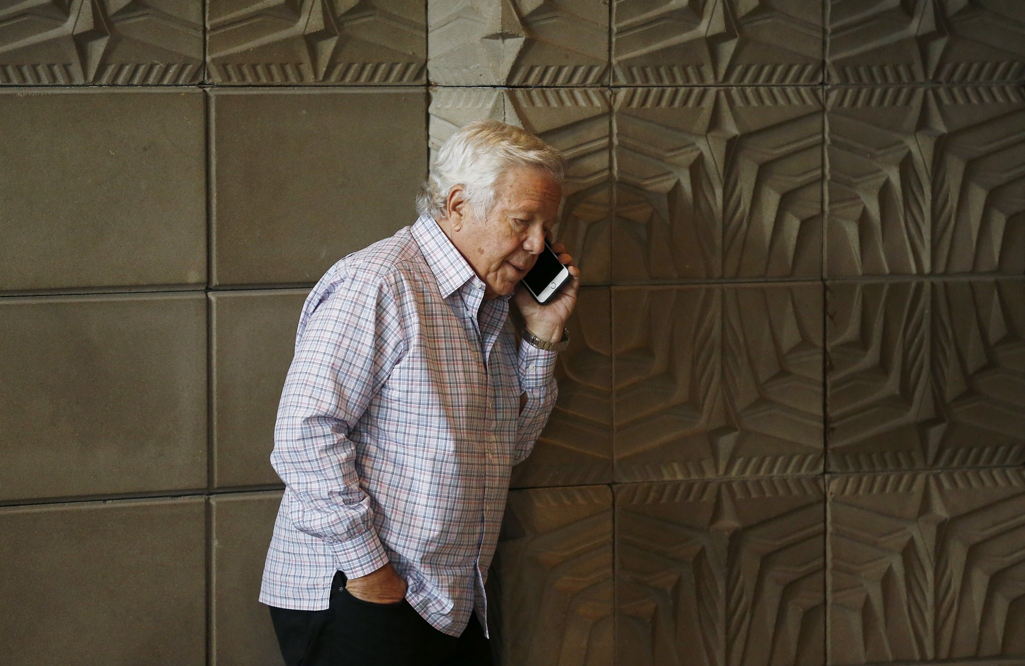 Robert Kraft said he hopes cornerback Malcolm Butler can stay with Patriots
