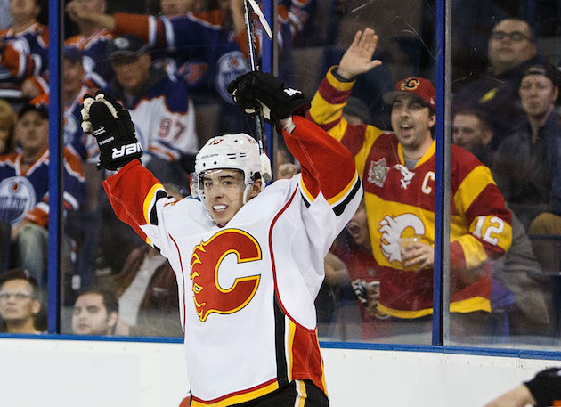 After Monahan, Flames 'work away' at Johnny Gaudreau extension