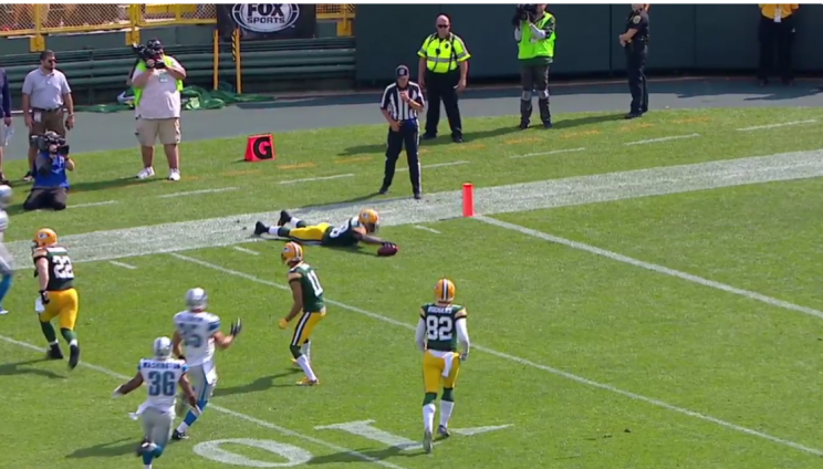 Packers returner pulls off brilliant, bizarre play