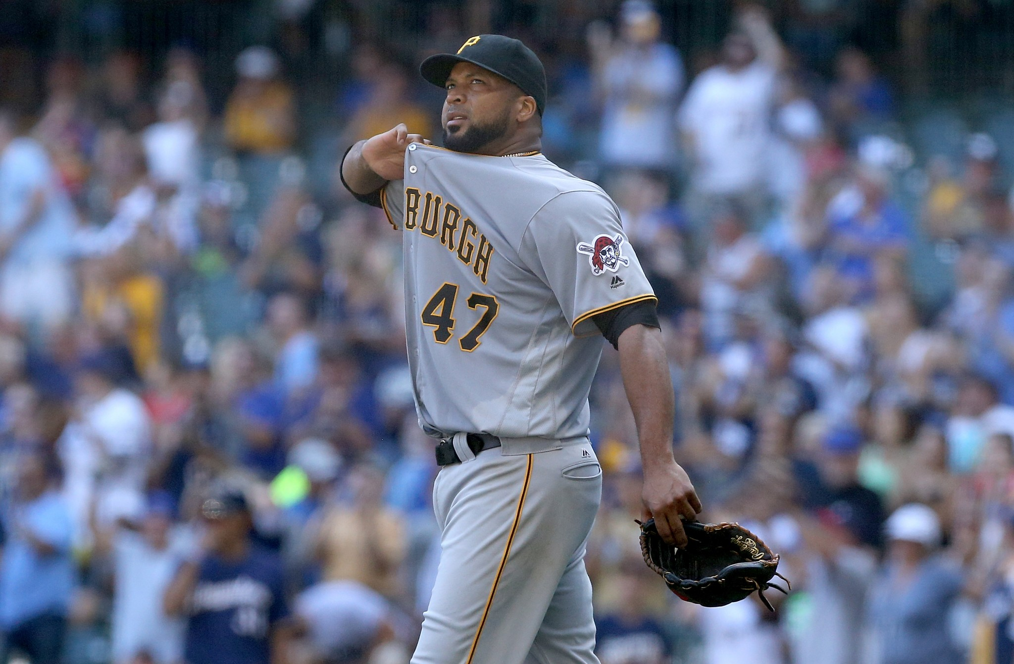 Francisco Liriano will look to turn around his fortunes in Toronto. (Getty Images/Dylan Buell)