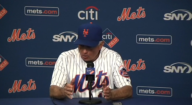 Terry Collins, mid-rant.
