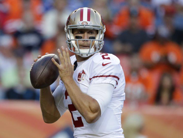 Blaine Gabbert makes modest improvement in 49ers' win