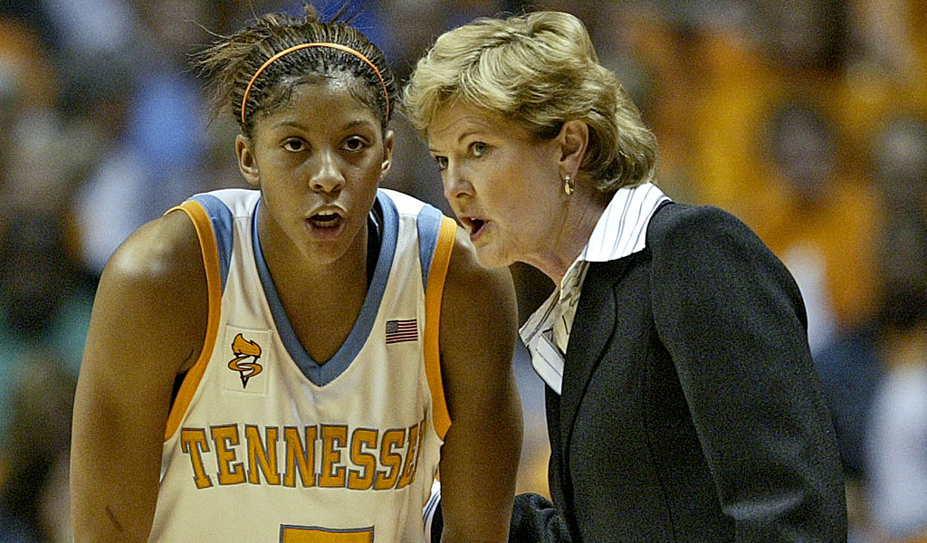 Candace Parker was among the former Lady Vols to reflect on the life of Pat Summitt (AP).
